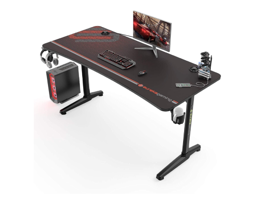 EUREKA ERGONOMIC GAMING DESK P60 I-SHAPED LARGE