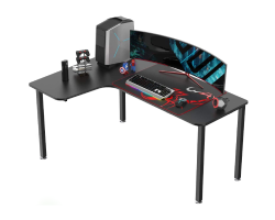 EUREKA ERGONOMIC L60 L-SHAPE GAMING DESK