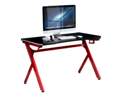 HOMCOM GAMING DESK WITH LED